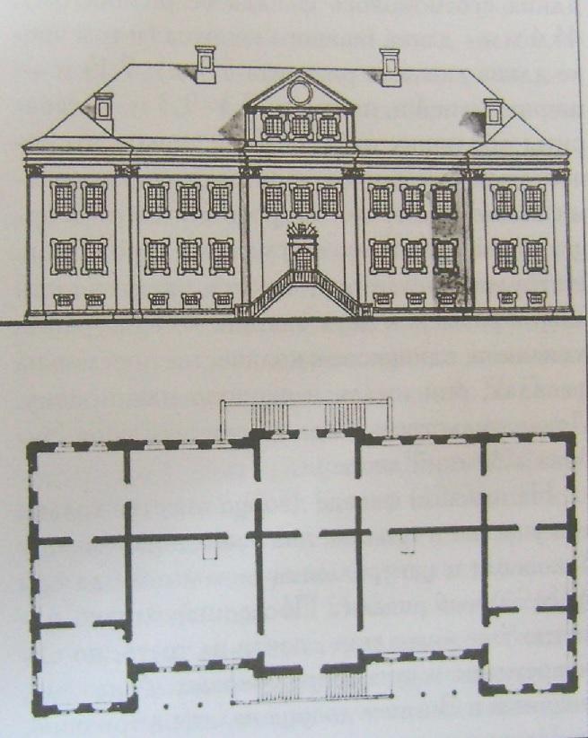 Планировка домов для именитых петровское барокко.